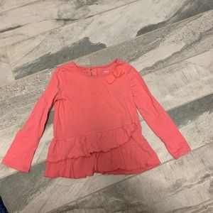 Girls long sleeve top